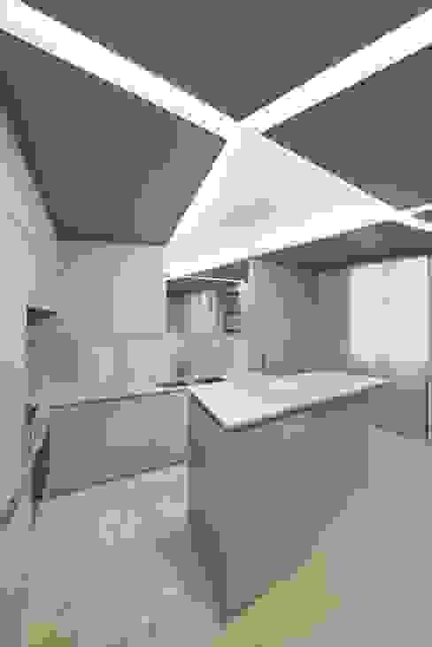 Appartement W Régis Botta - Architectures Cuisine moderne