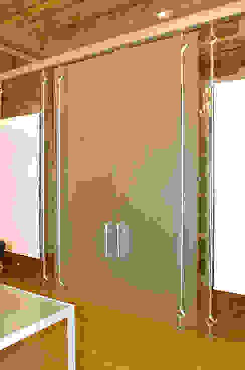 porta doppia con apertura a bilico di Rizzo 1830 Moderno Vetro