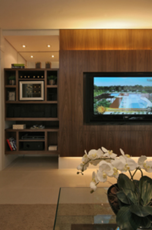 Classic style media room by Carolina Ouro Arquitetura Classic