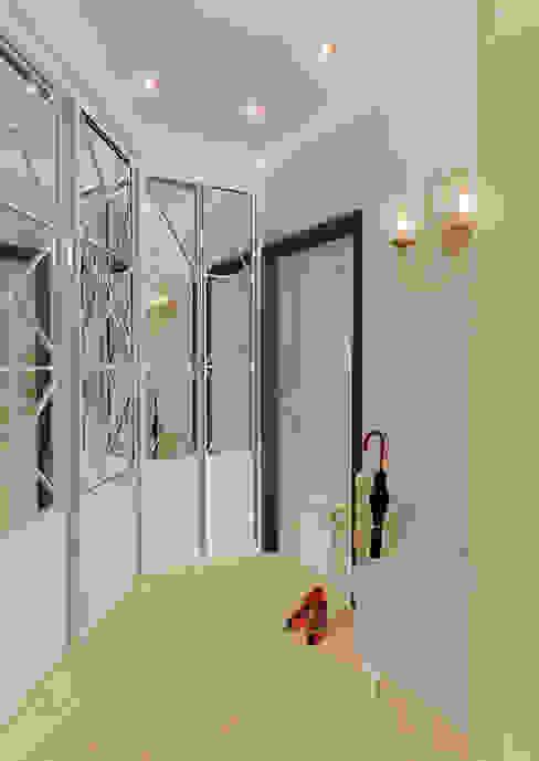 """Двухкомнатная квартира в жилом комплексе """"Алиса"""": Коридор и прихожая в . Автор – Design Rules"""