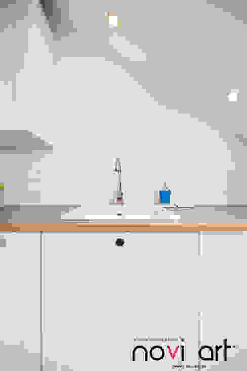 北欧デザインの キッチン の homify 北欧 MDF