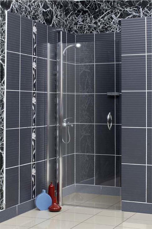 Baños de estilo moderno de armoni yapı Moderno
