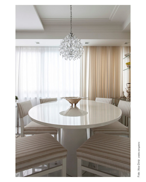 Dining room by Cristiane Pepe Arquitetura, Classic