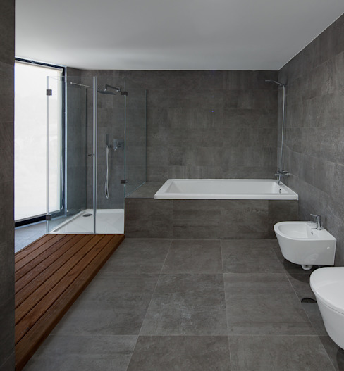 PEDROHENRIQUE|ARQUITETO Modern style bathrooms