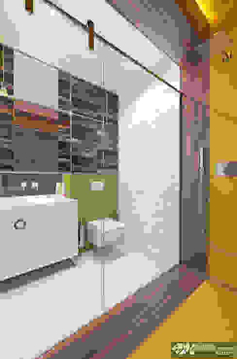 """""""Vintage"""" Ванная комната в эклектичном стиле от Kornienko-Partners Эклектичный"""