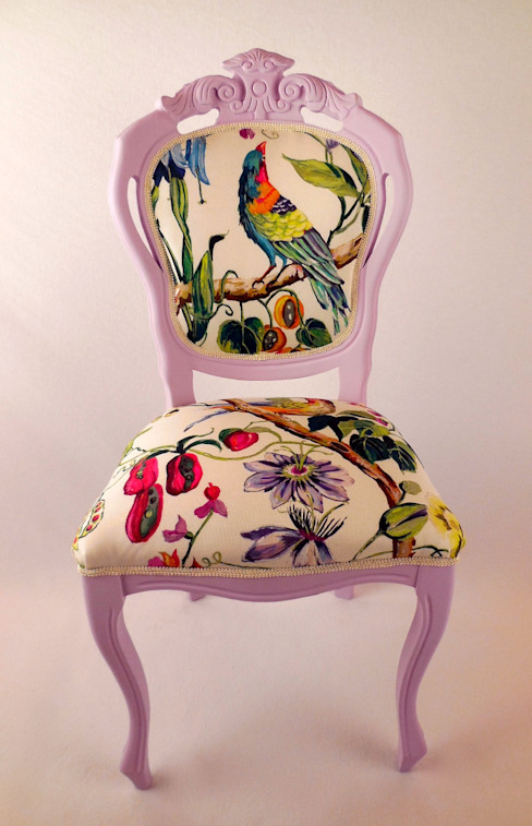 di Motley Chairs Eclettico Legno Effetto legno