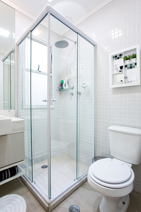 Amanda Pinheiro Design de interiores Salle de bain moderne