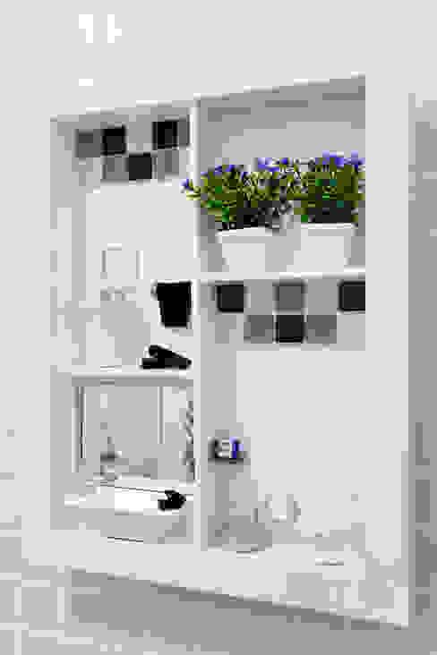 Amanda Pinheiro Design de interiores 모던스타일 욕실