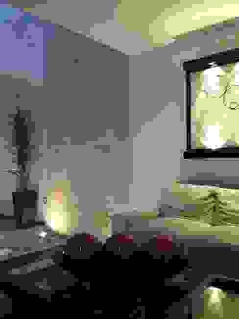 ห้องนั่งเล่น โดย SANTIAGO PARDO ARQUITECTO, โมเดิร์น