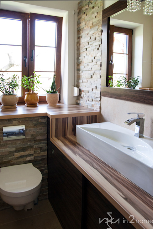 Eclectic style bathrooms by in2home Eclectic Stone