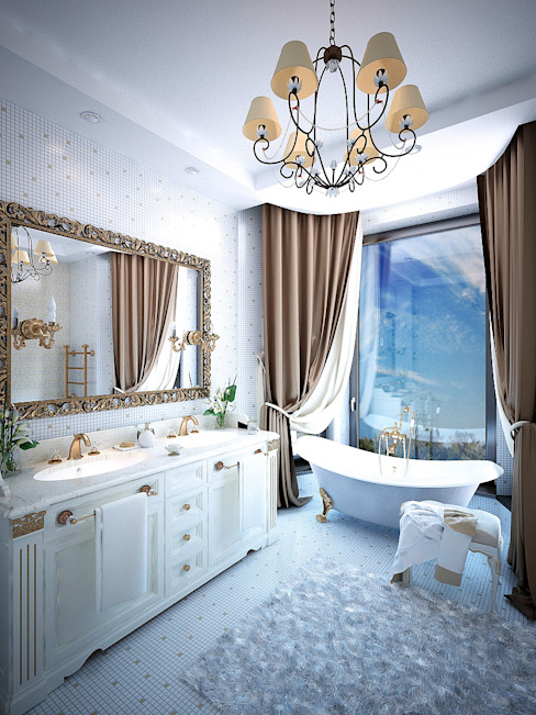 根據 Shtantke Interior Design 古典風