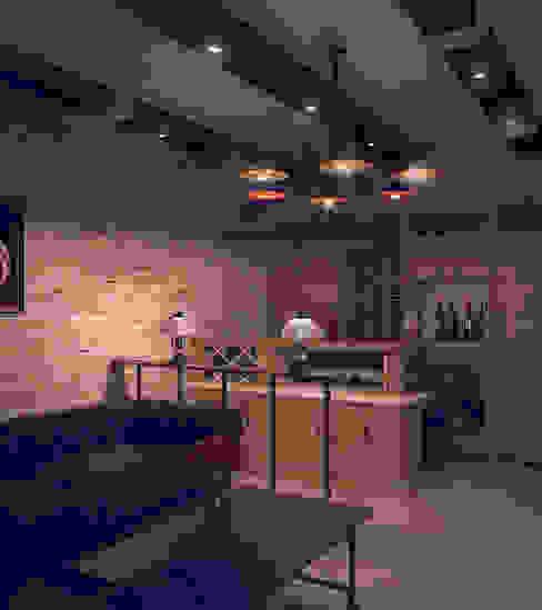 Grand Villa Klasyczna piwnica win od Shtantke Interior Design Klasyczny