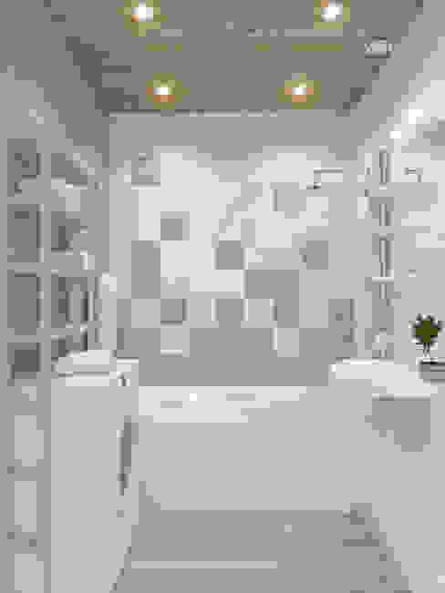 Трехкомнатная квартира Ванная в средиземноморском стиле от Design Rules Средиземноморский