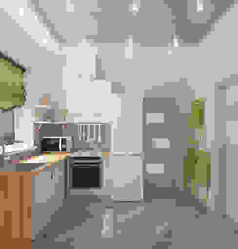 Компактный загородный дом Кухня в средиземноморском стиле от Design Rules Средиземноморский