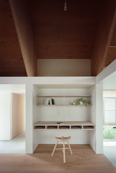 Koyanosumika Minimalst style study/office by ma-style architects Minimalist