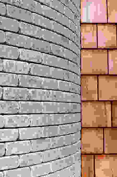 Les Bardeaux Moderne muren & vloeren van JAMIE FALLA ARCHITECTURE Modern