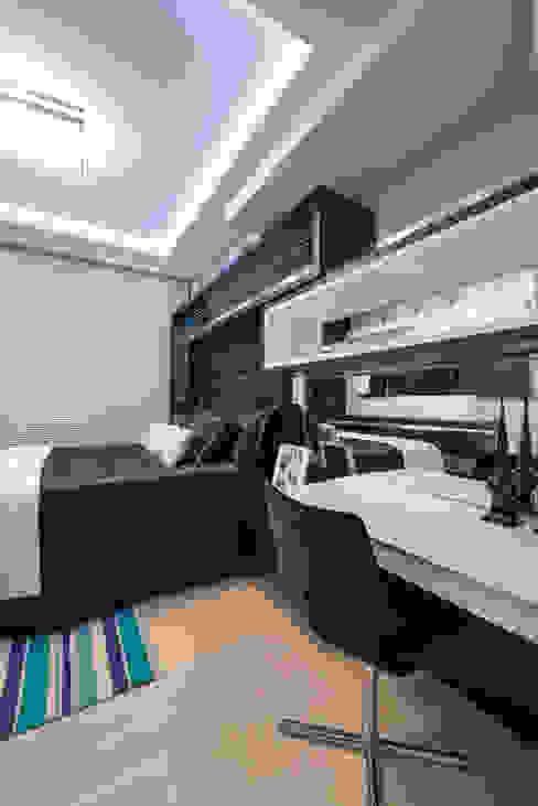 Athos Peruzzolo Arquiteturaが手掛けた寝室