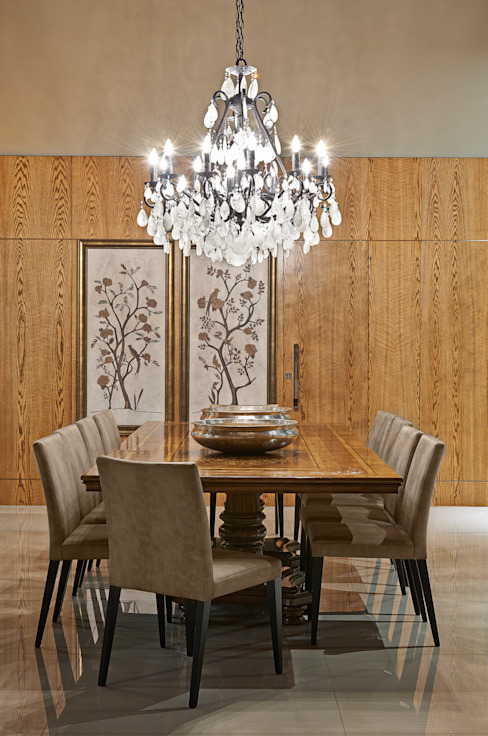 Dining room by Gláucia Britto, Rustic