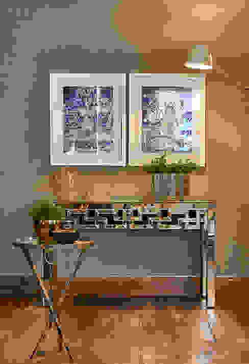 Apartamento LJ Salas de estar modernas por Gláucia Britto Moderno