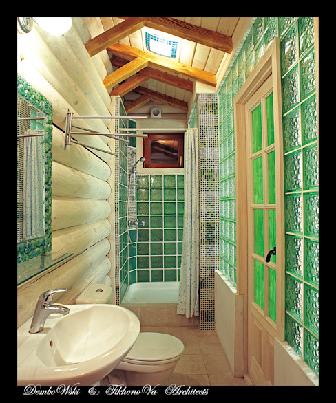 Bathroom by D&T Architects, Country