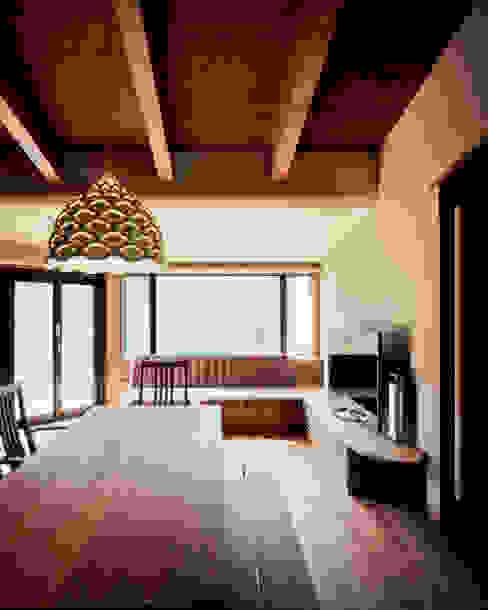 北広島町の家 オリジナルデザインの ダイニング の 伊藤瞬建築設計事務所 オリジナル