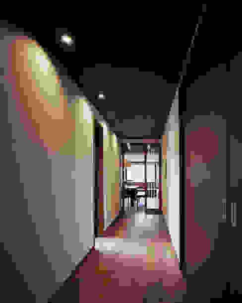 北広島町の家 オリジナルスタイルの 玄関&廊下&階段 の 伊藤瞬建築設計事務所 オリジナル