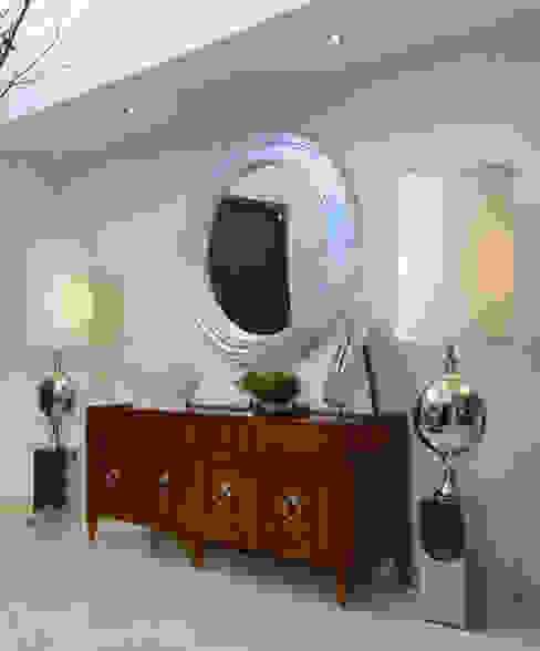 Recibidor Casa GL Pasillos, vestíbulos y escaleras de estilo moderno de VICTORIA PLASENCIA INTERIORISMO Moderno Madera Acabado en madera