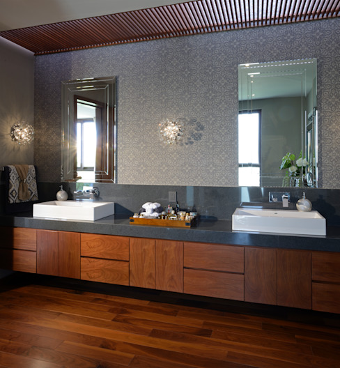 Modern bathroom by homify Modern Quartz