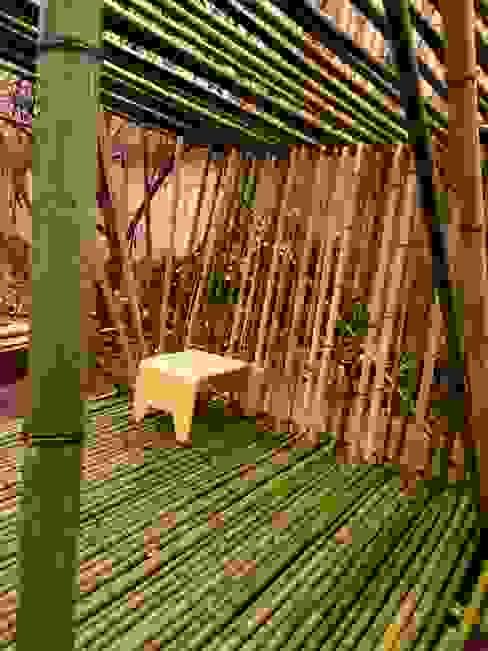 cabanesdesign Eclectic style garden