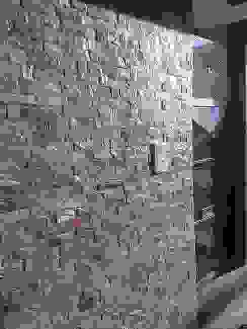 Fotos de Obras Casas modernas: Ideas, imágenes y decoración de Alta calidad en piedras Moderno