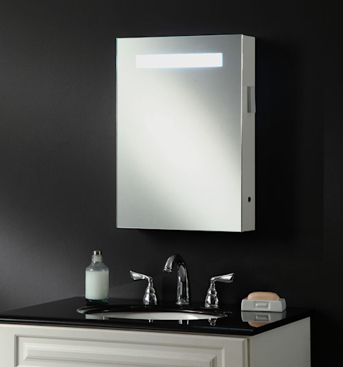 Atomic Illuminated Bathroom Mirror Cabinet: modern  by My Furniture, Modern