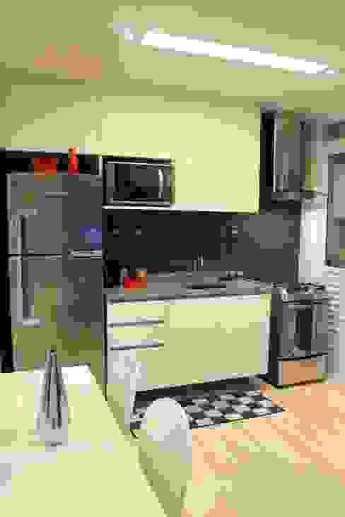 Apartamento de jovem solteiro Cozinhas modernas por ciclica arquitetura e urbanismo Moderno