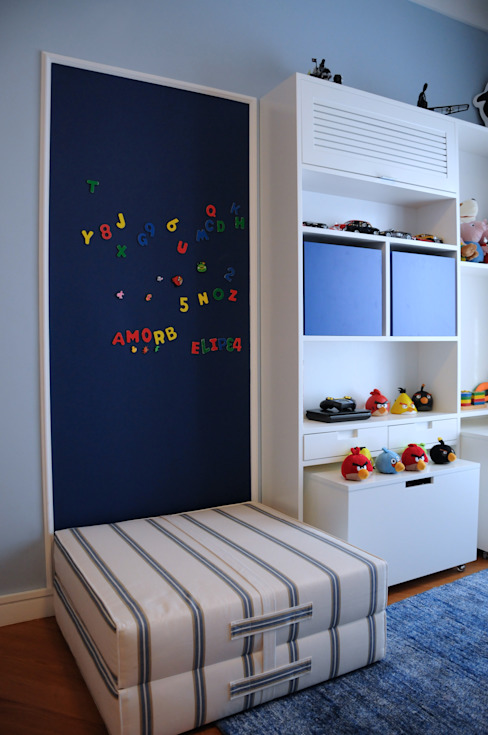 Clô Vieira Design de Interiores Modern nursery/kids room