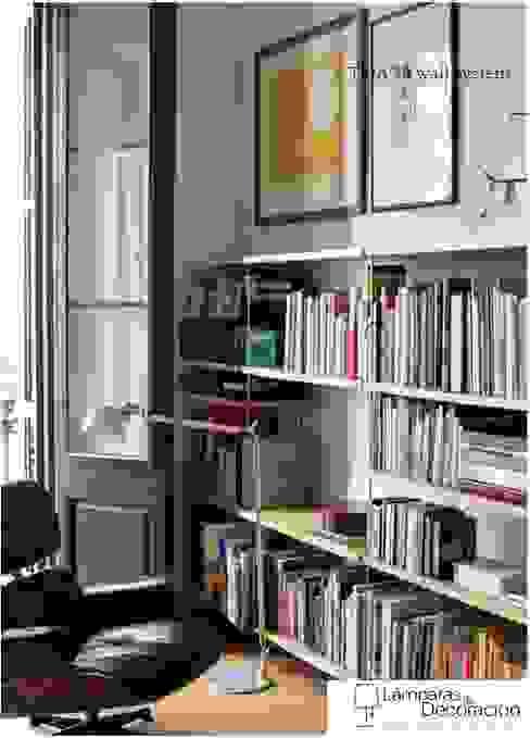 Minimalist study/office by LÁMPARAS DE DECORACIÓN Minimalist