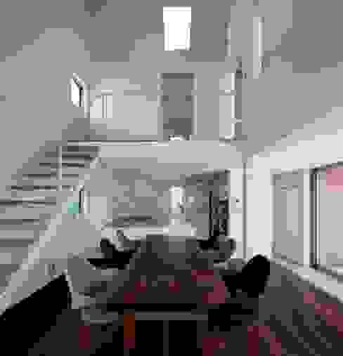 浜竹の家 House in Hamatake モダンデザインの ダイニング の 一級建築士事務所 本間義章建築設計事務所 モダン