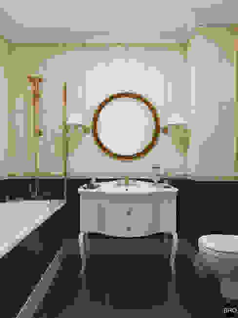 """1-к квартира в ЖК """"Park Avenue"""" Ванная в классическом стиле от BRO Design Studio Классический"""