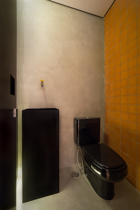 Baños de estilo  por Casa100 Arquitetura, Moderno
