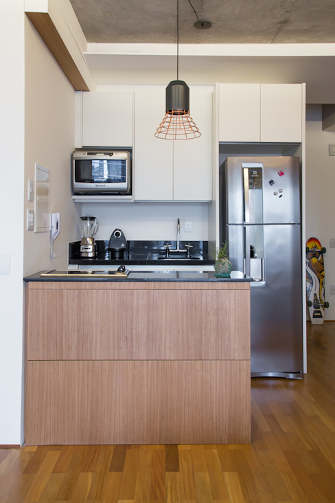 apto poledance Cozinhas modernas por Casa100 Arquitetura Moderno