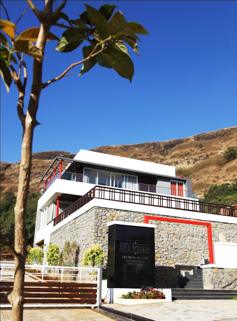 SKI Villa @ Aamby Valley, Lonavala, Pune GreenLounge Modern houses