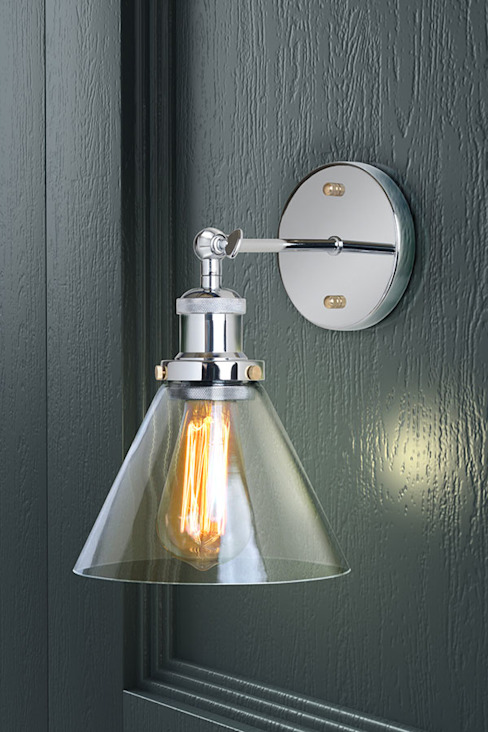 Dion Chrome Wall Light de My Furniture Moderno