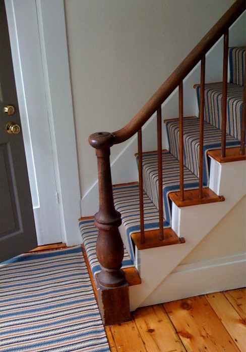 Newport 2 Stair Runner Fleetwood Fox Ltd Classic corridor, hallway & stairs Blue