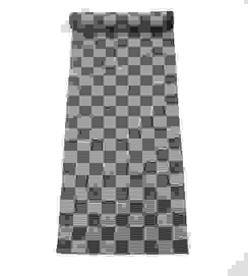 Chequerboard Runner Fleetwood Fox Ltd Klasik Yün Turuncu