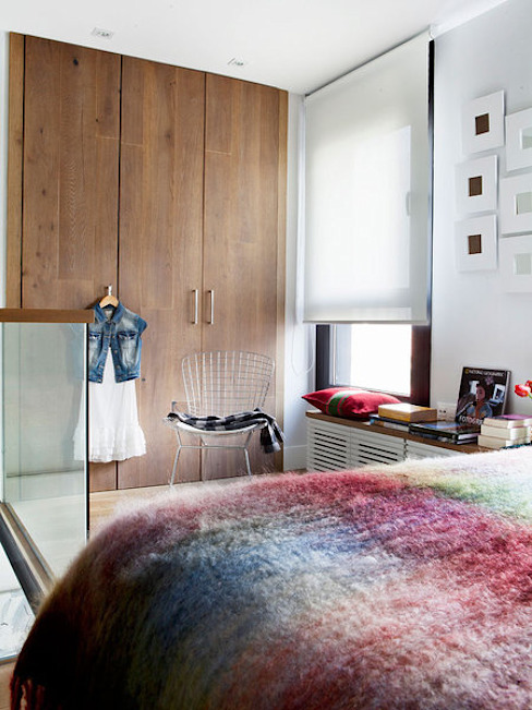 Projekty,  Garderoba zaprojektowane przez BELEN FERRANDIZ INTERIOR DESIGN, Nowoczesny
