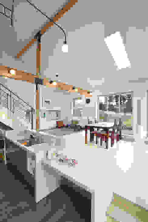 Moderne Küchen von 주택설계전문 디자인그룹 홈스타일토토 Modern