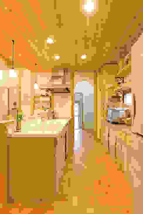 キッチン、パントリー オリジナルデザインの キッチン の 株式会社粋の家 オリジナル