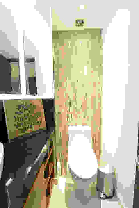 BOSQUES Baños modernos de ESTUDIO TANGUMA Moderno Azulejos