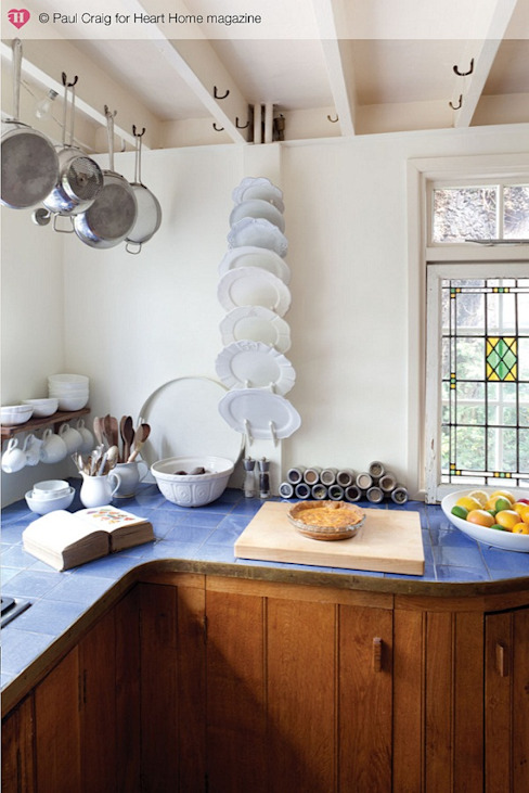 A 17th Century Historic Home in the English Countryside Country style kitchen by Heart Home magazine Country
