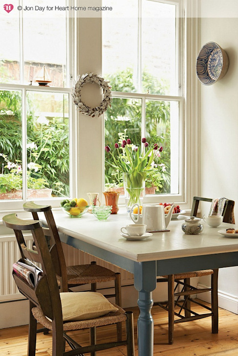 An Eclectic Edwardian Home Classic style dining room by Heart Home magazine Classic