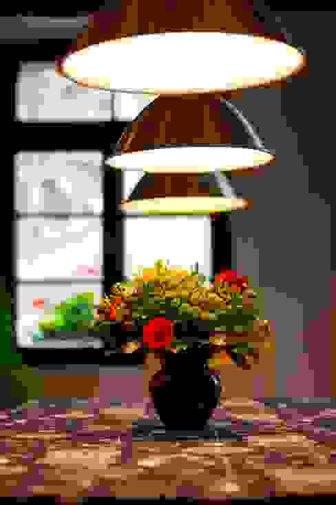Tischdeko Esszimmer im Landhausstil von Immotionelles Landhaus