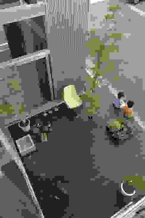 桂木の家 オリジナルデザインの テラス の フクシアンドフクシ建築事務所 オリジナル